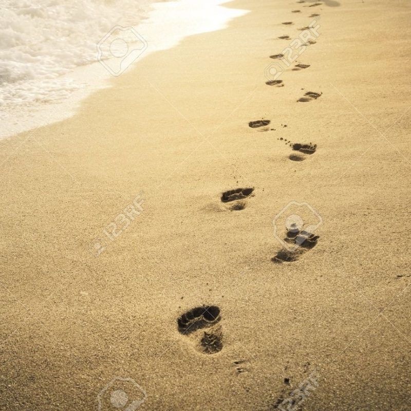 10 Latest Footprints In The Sand Pictures FULL HD 1920×1080 For PC Desktop 2018 free download footprints in the sand at sunset stock photo picture and royalty 800x800