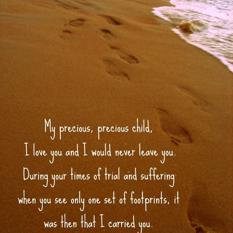 10 Latest Footprints In The Sand Pictures FULL HD 1920×1080 For PC Desktop 2018 free download footprints in the sand poem this is such a precious poem words 800x800