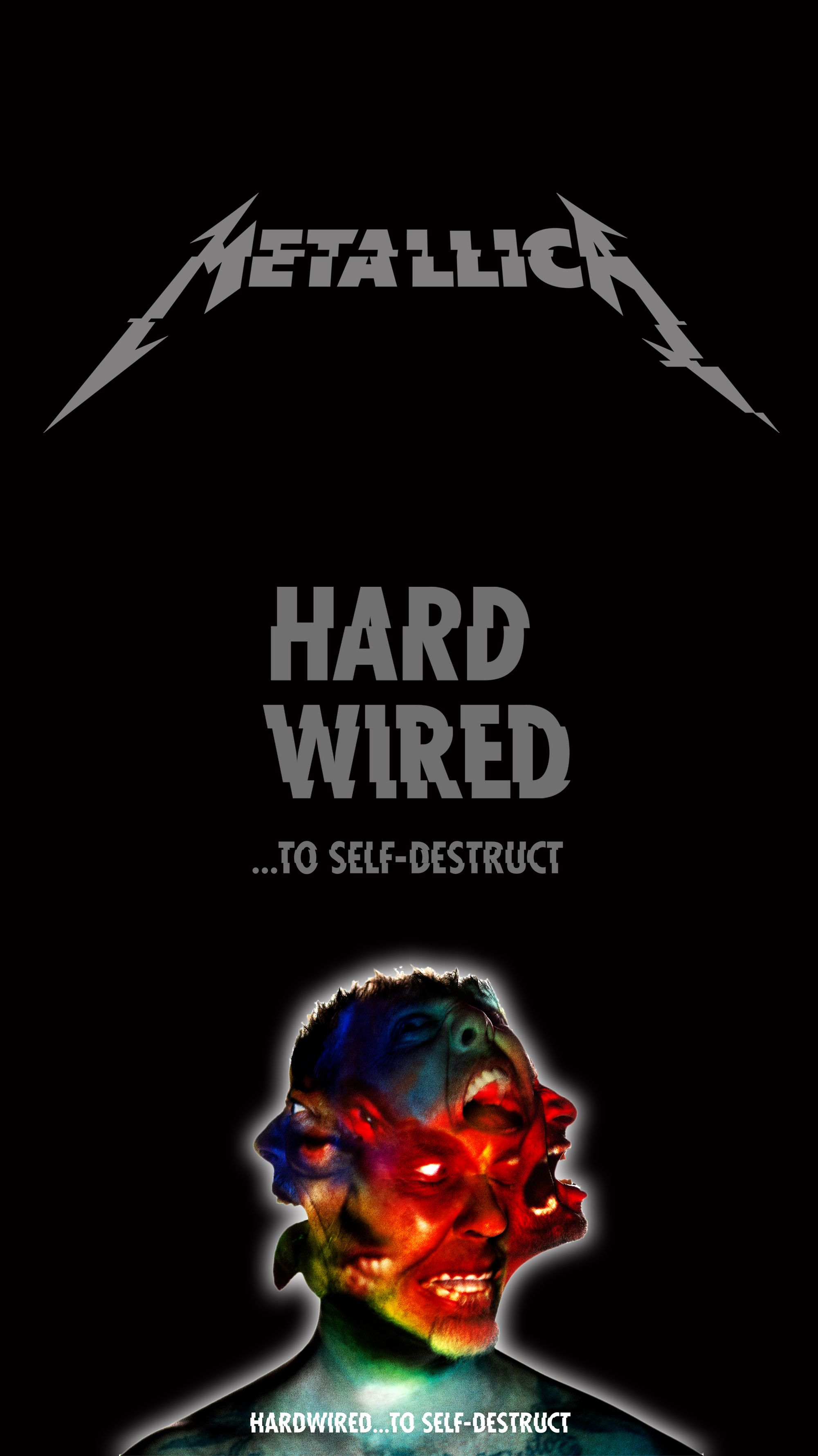 "for wallpaper smartphone 5"" #metallica #hardwired 