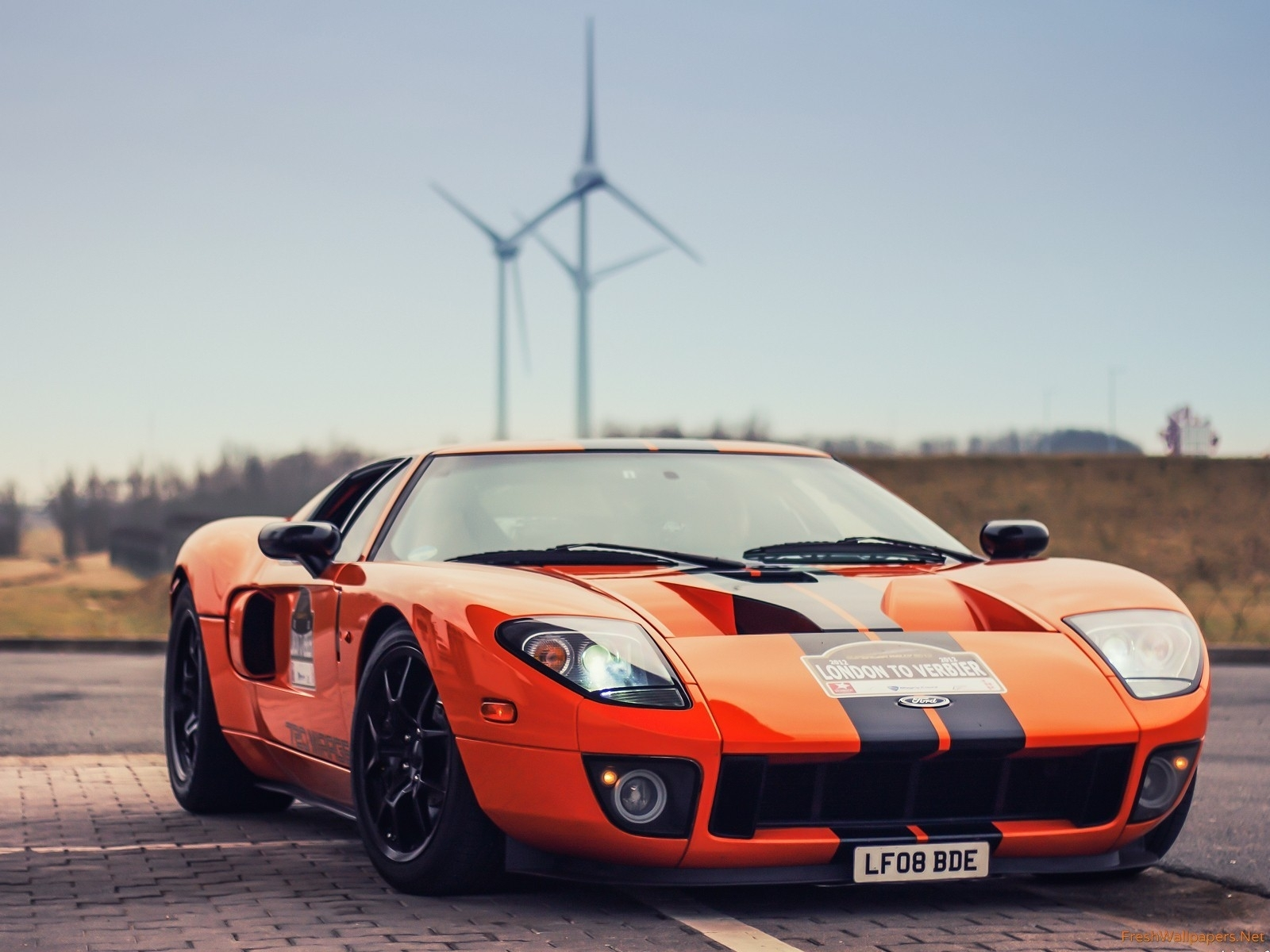 ford gt orange wallpapers | freshwallpapers