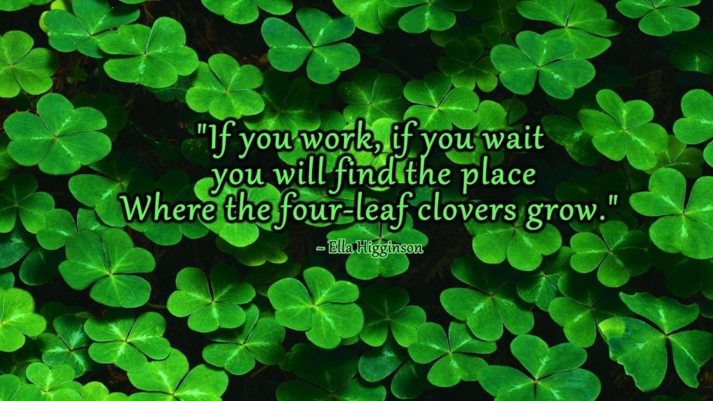 10 Latest 4 Leaf Clover Wallpapers FULL HD 1080p For PC Background 2018 free download four leaf clover wallpapers wallpaper cave 1024x576