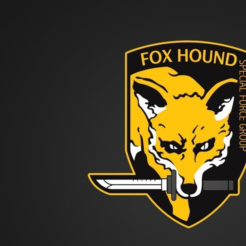 10 Latest Foxhound Logo Wallpaper Hd FULL HD 1920×1080 For PC Desktop 2018 free download fox hound wallpapers wallpaper cave 800x800