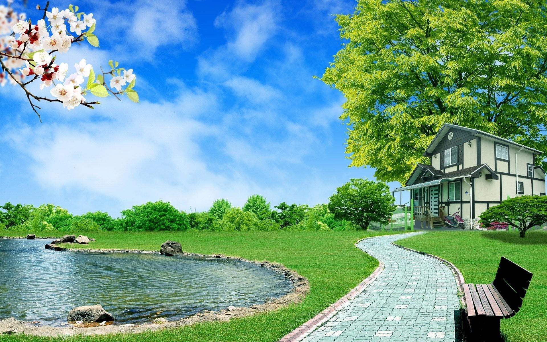10 Most Popular 3d Wallpaper Hd 1080p Free Download Full: 10 Top 3D Nature Wallpapers For Desktop Free Download FULL