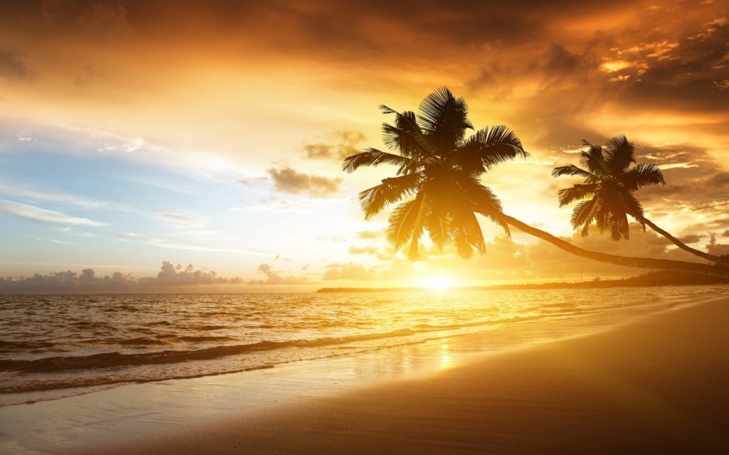 10 Latest Beautiful Beach Sunset Backgrounds FULL HD 1080p For PC Desktop 2020 free download free beach sunset wallpaper images long wallpapers 1024x640