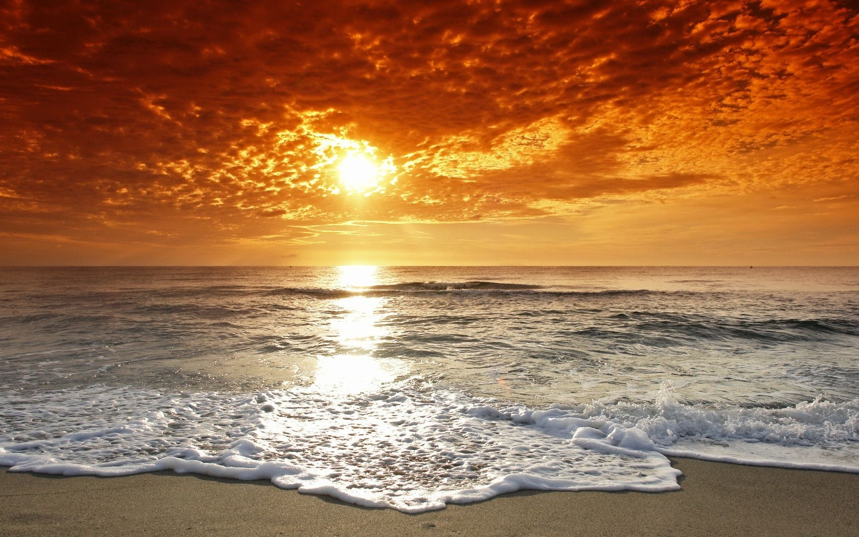 free beach sunset wallpaper widescreen « long wallpapers