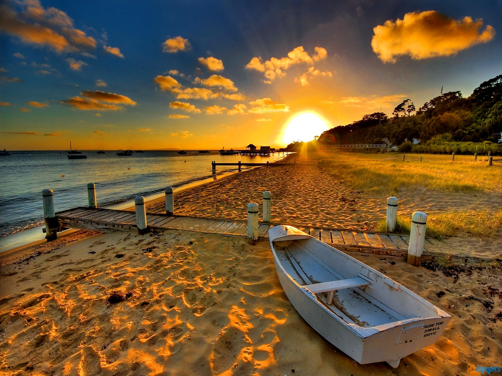 free beach sunset wallpapers free « long wallpapers