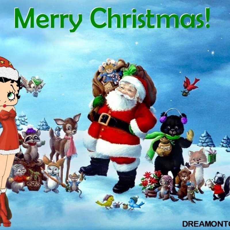 10 Latest Betty Boop Christmas Wallpaper FULL HD 1080p For PC Desktop 2018 free download free cartoon graphics pics gifs photographs betty boop and 800x800