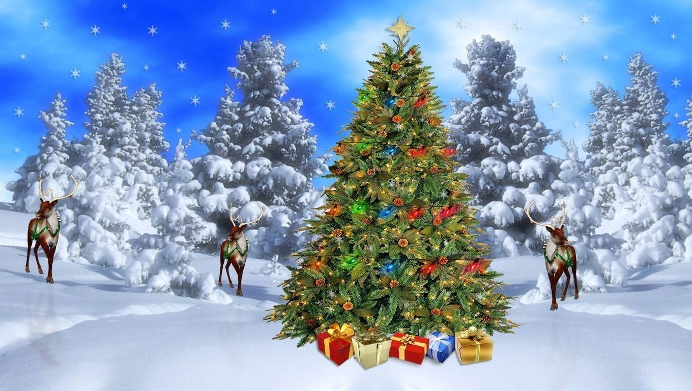 10 Most Popular Christmas Scenes Wallpaper Free FULL HD 1920×1080 For PC Desktop