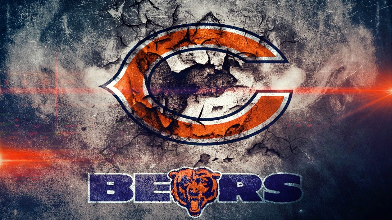 free-cool-chicago-bears-wallpaper-cracked-wall (1366×768) | cars