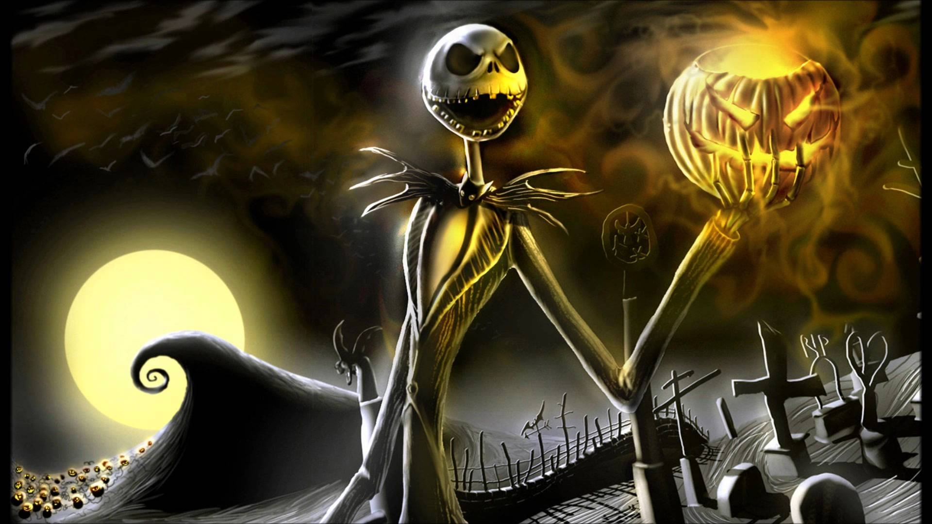 10 Most Popular Nightmare Before Christmas Jack Skellington Wallpaper FULL HD 1920×1080 For PC Desktop