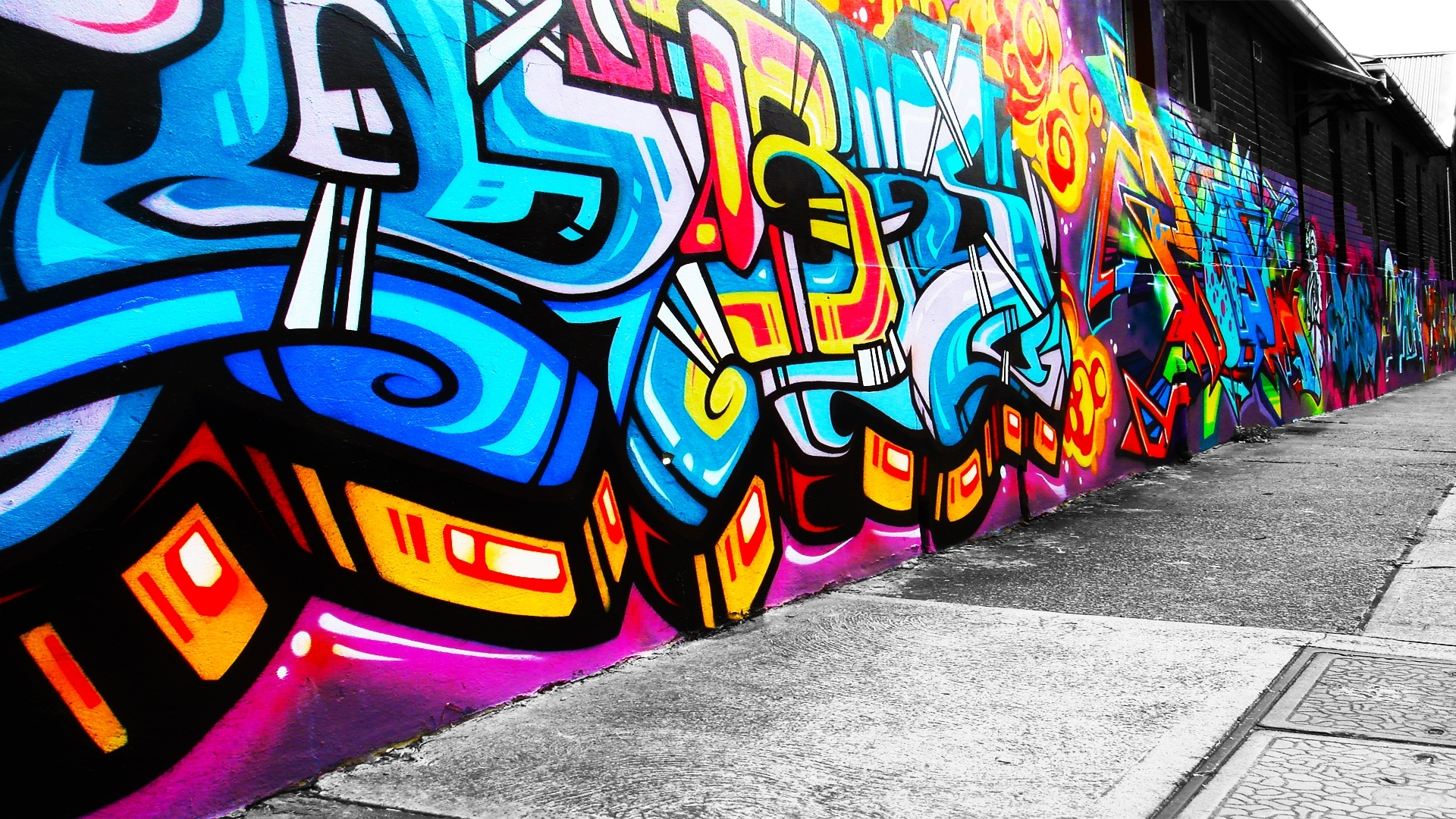 free graffiti art wallpaper images « long wallpapers