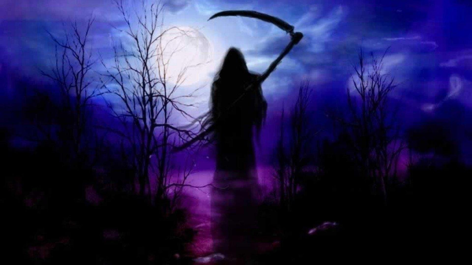 10 Latest Dark Grim Reaper Wallpaper Purple FULL HD 1080p For PC Desktop