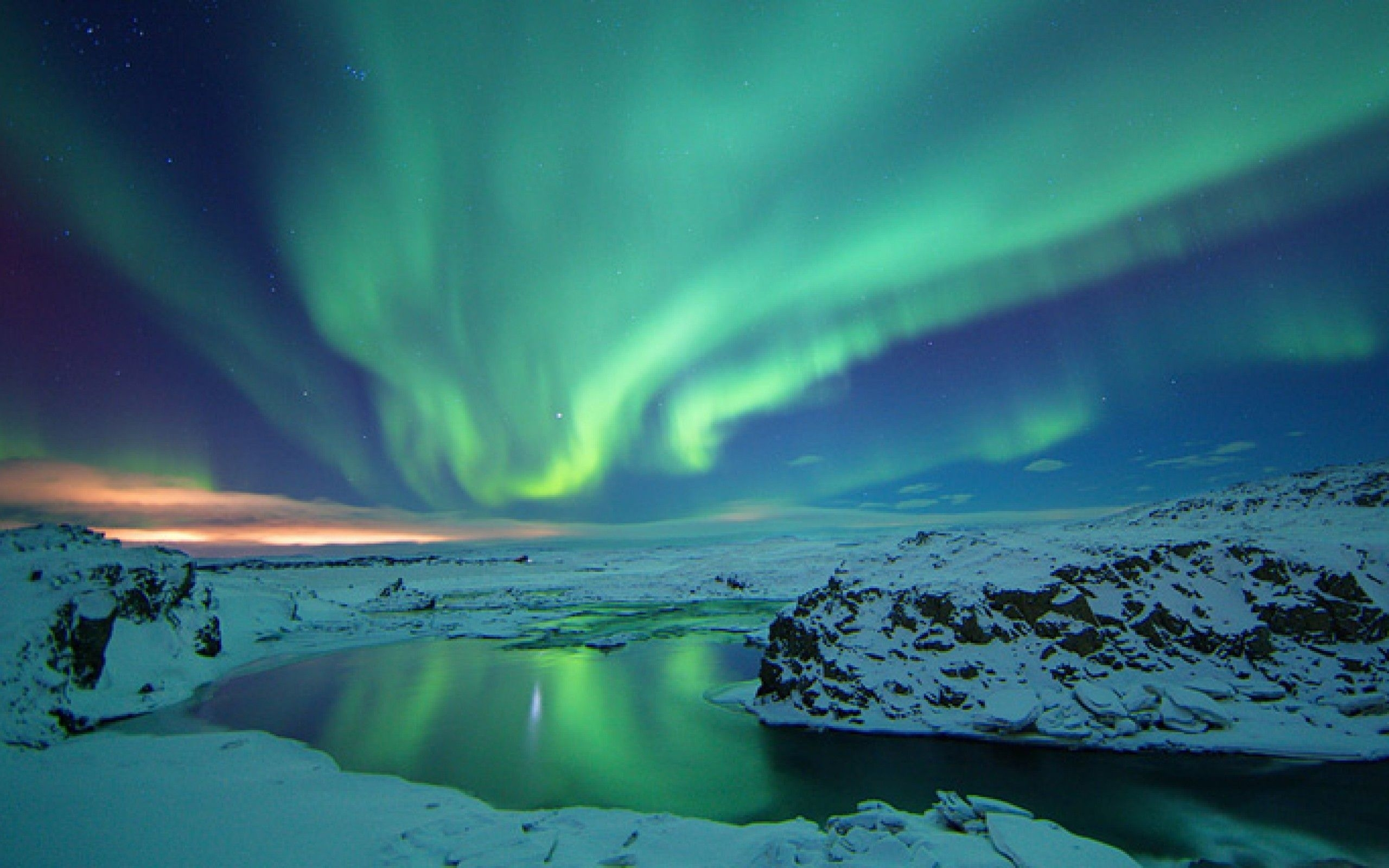 free iceland northern lights wallpaper mobile « long wallpapers