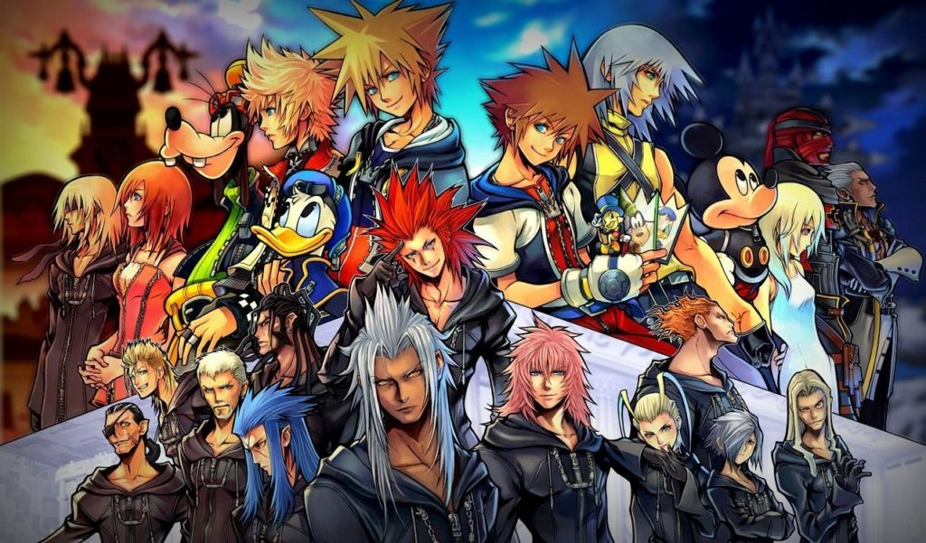 10 Top Kingdom Hearts 2 Wallpaper FULL HD 1920×1080 For PC Background 2018 free download free kingdom hearts wallpapers high resolution long wallpapers 1024x601