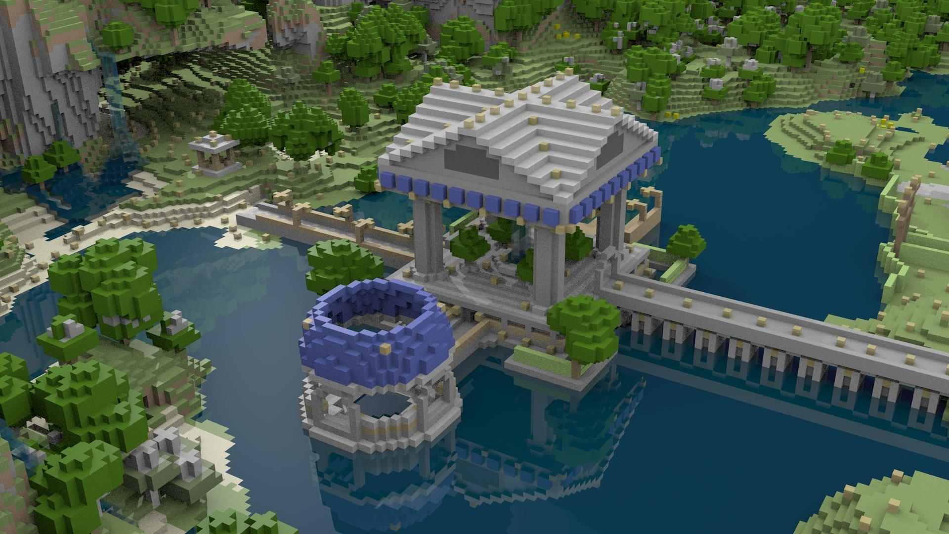 free minecraft 1920 x 1080p wallpapers - screenshots - show your