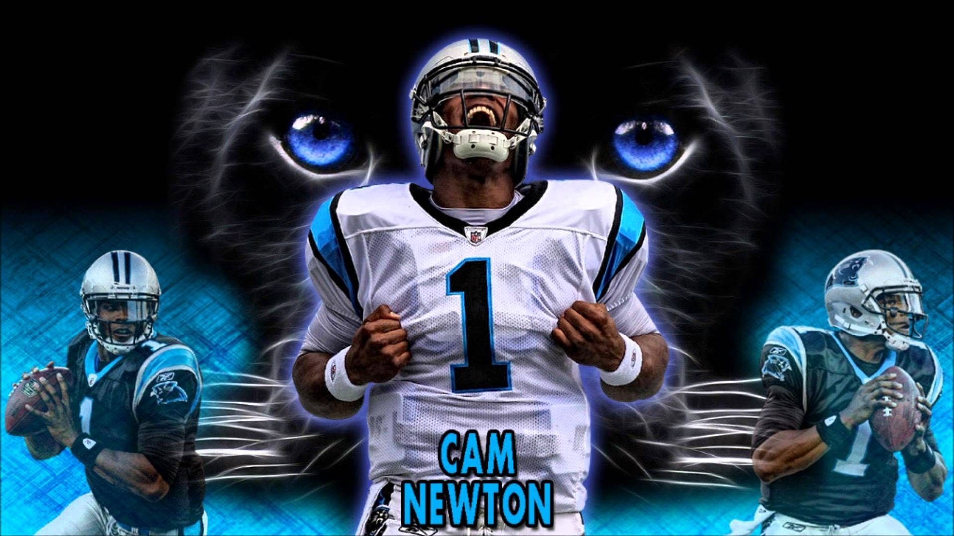 free nfl cam newton wallpaper - youtube