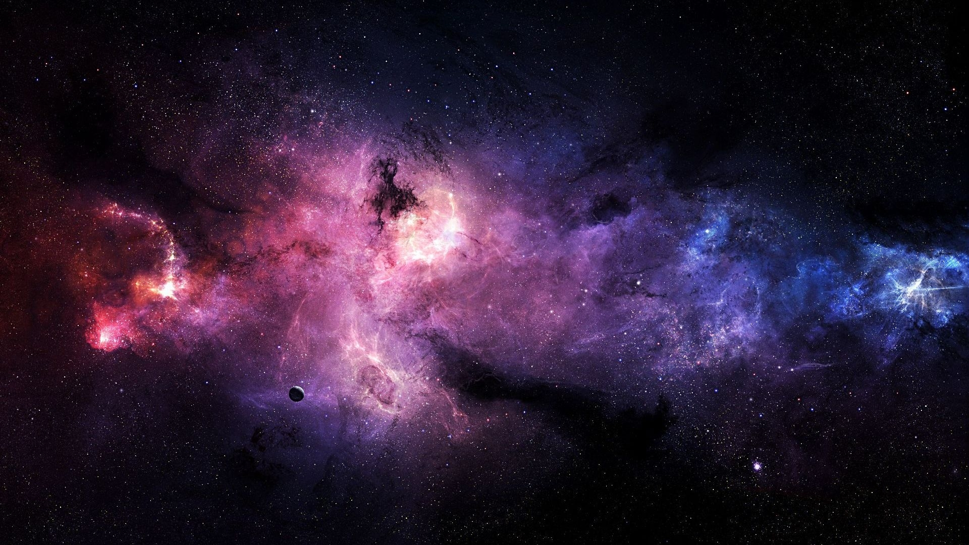 free purple galaxy wallpapers picture « long wallpapers