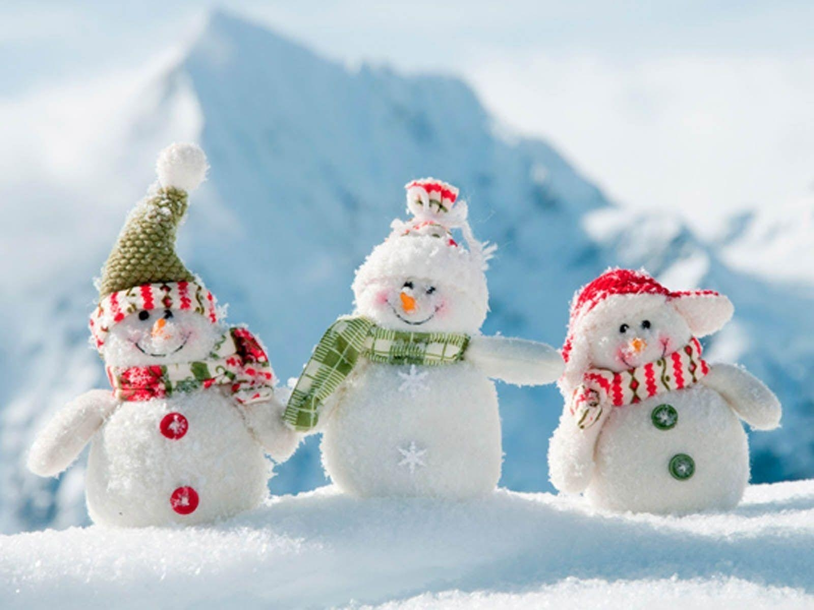 free snowman desktop wallpapers - wallpaper cave