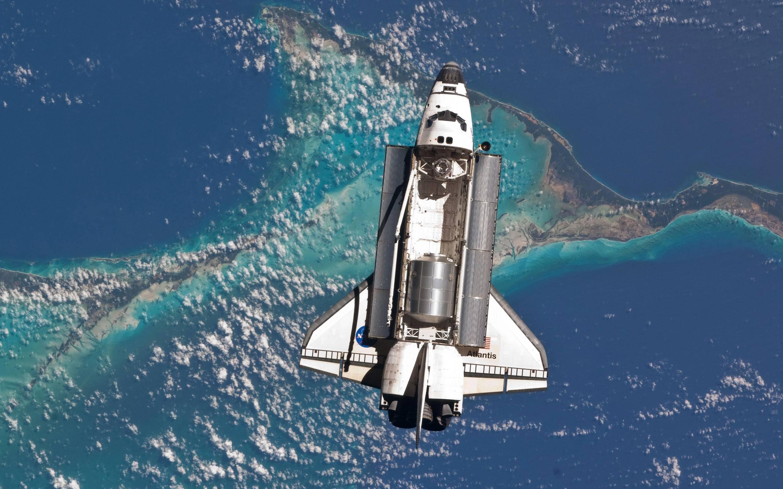 free space shuttle wallpaper free « long wallpapers