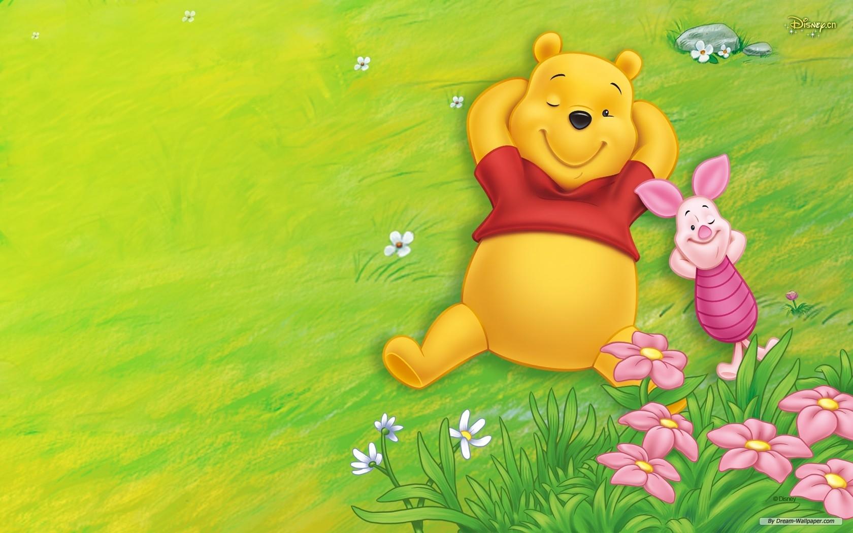 free wallpaper - free cartoon wallpaper - winnie the pooh