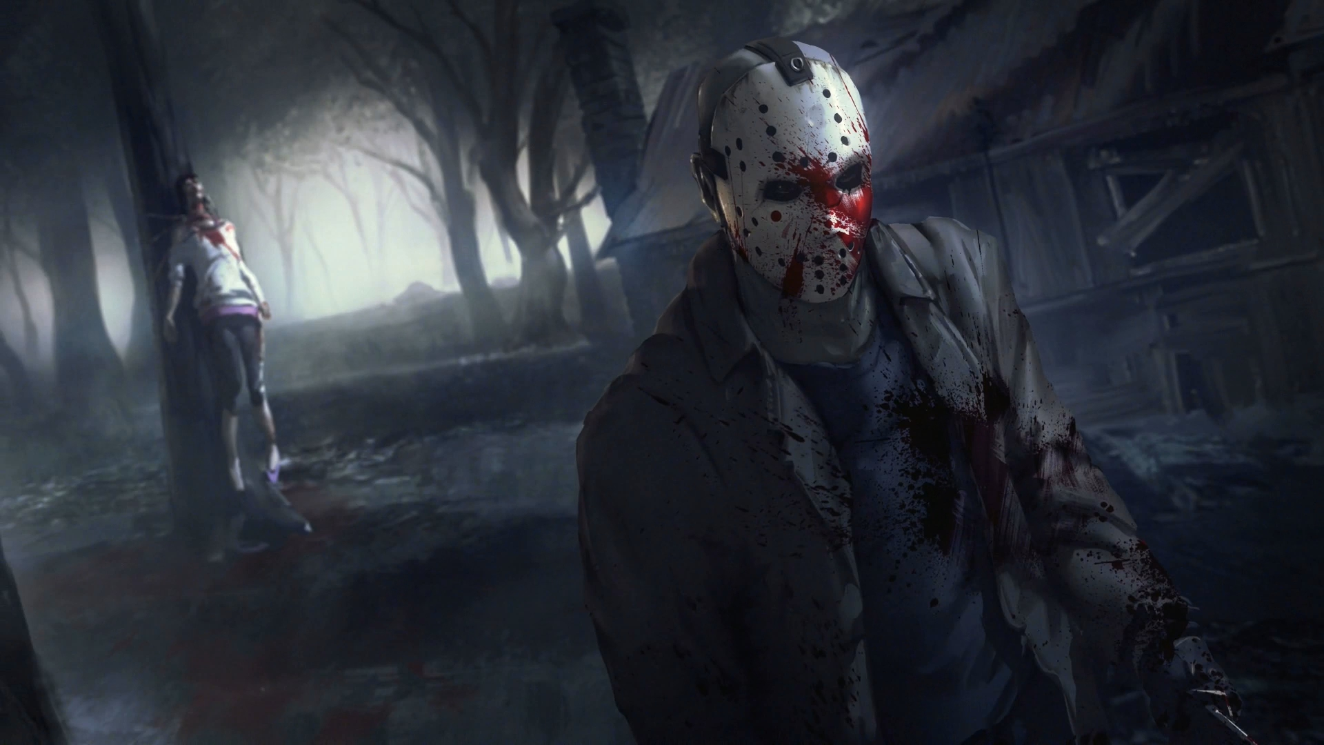 friday the 13th: the game full hd fond d'écran and arrière-plan