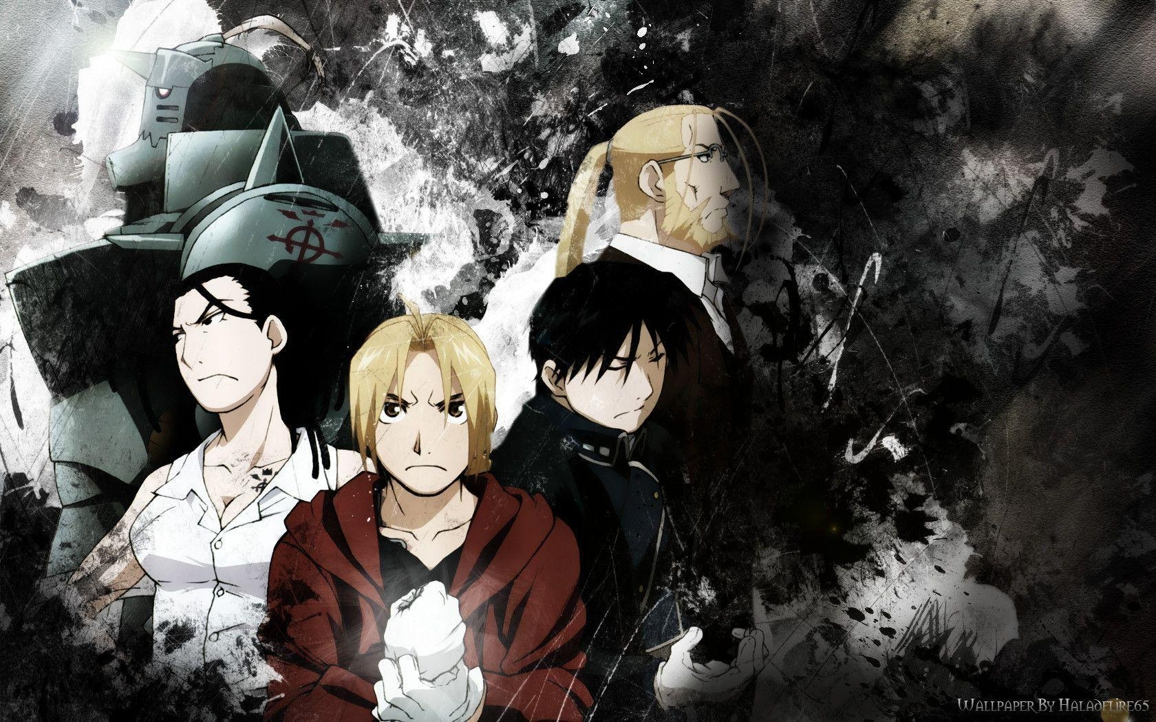 fullmetal alchemist brotherhood wallpapers - wallpaper cave