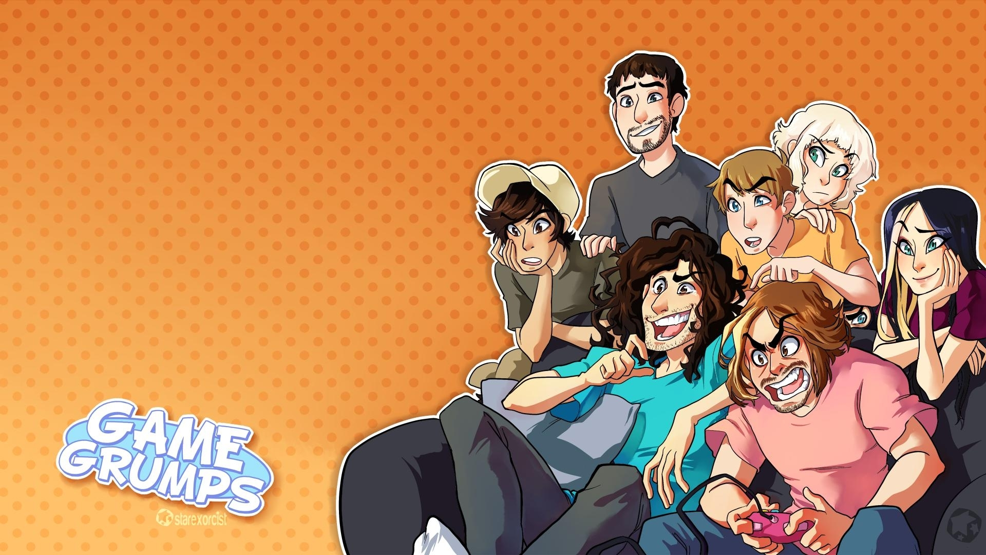 10 Latest Game Grumps Desktop Wallpaper FULL HD 1080p For PC Desktop