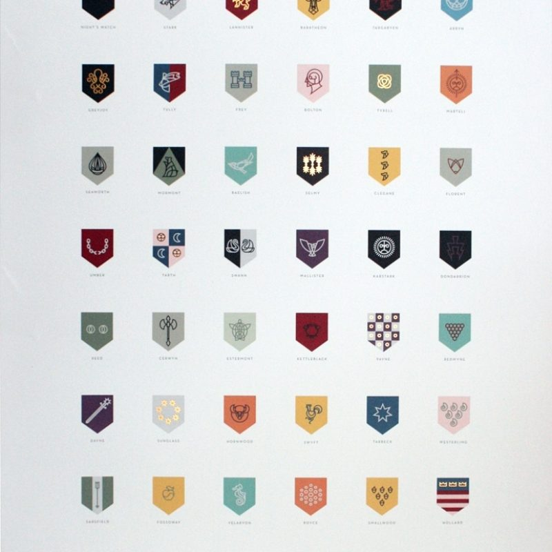 10 New Game Of Thrones House Logos FULL HD 1920×1080 For PC Background 2021 free download game of thrones sigils of the houses of westeros poster craft 800x800