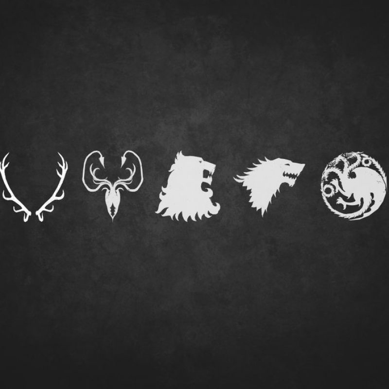 10 New Game Of Thrones House Logos FULL HD 1920×1080 For