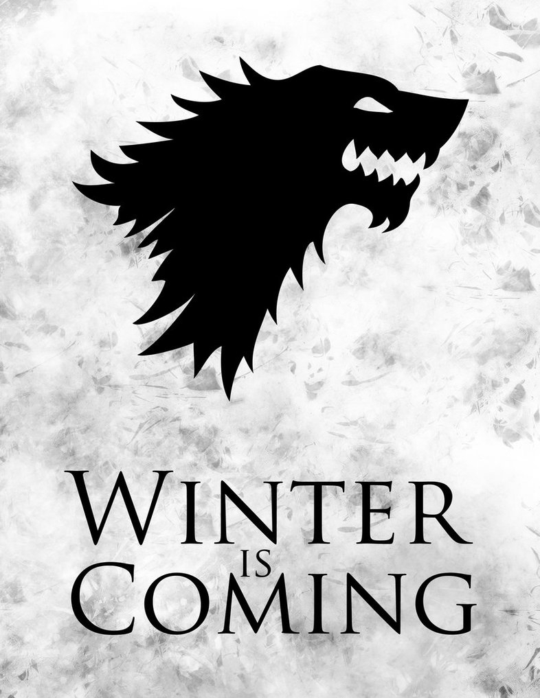game of thrones winter is comingletgodesign on deviantart