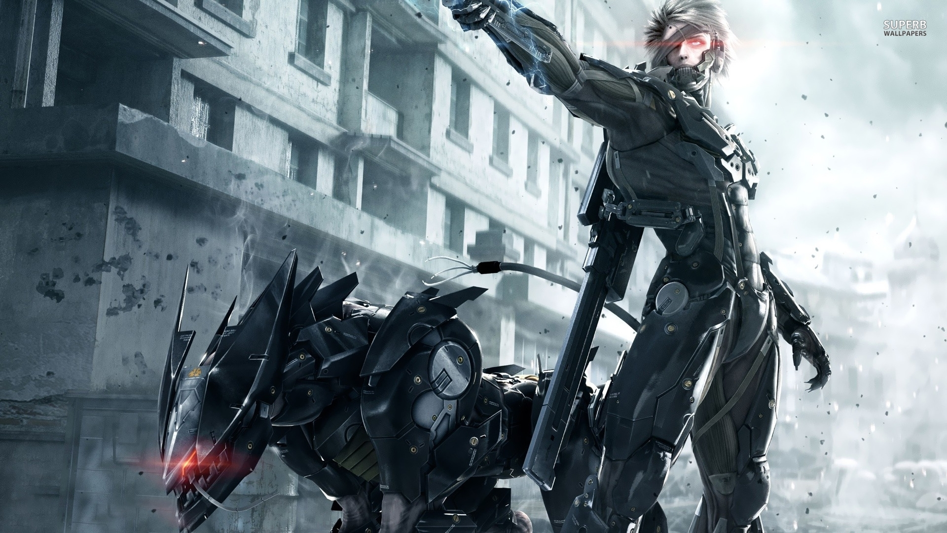games metal gear rising revengeance wallpapers (desktop, phone