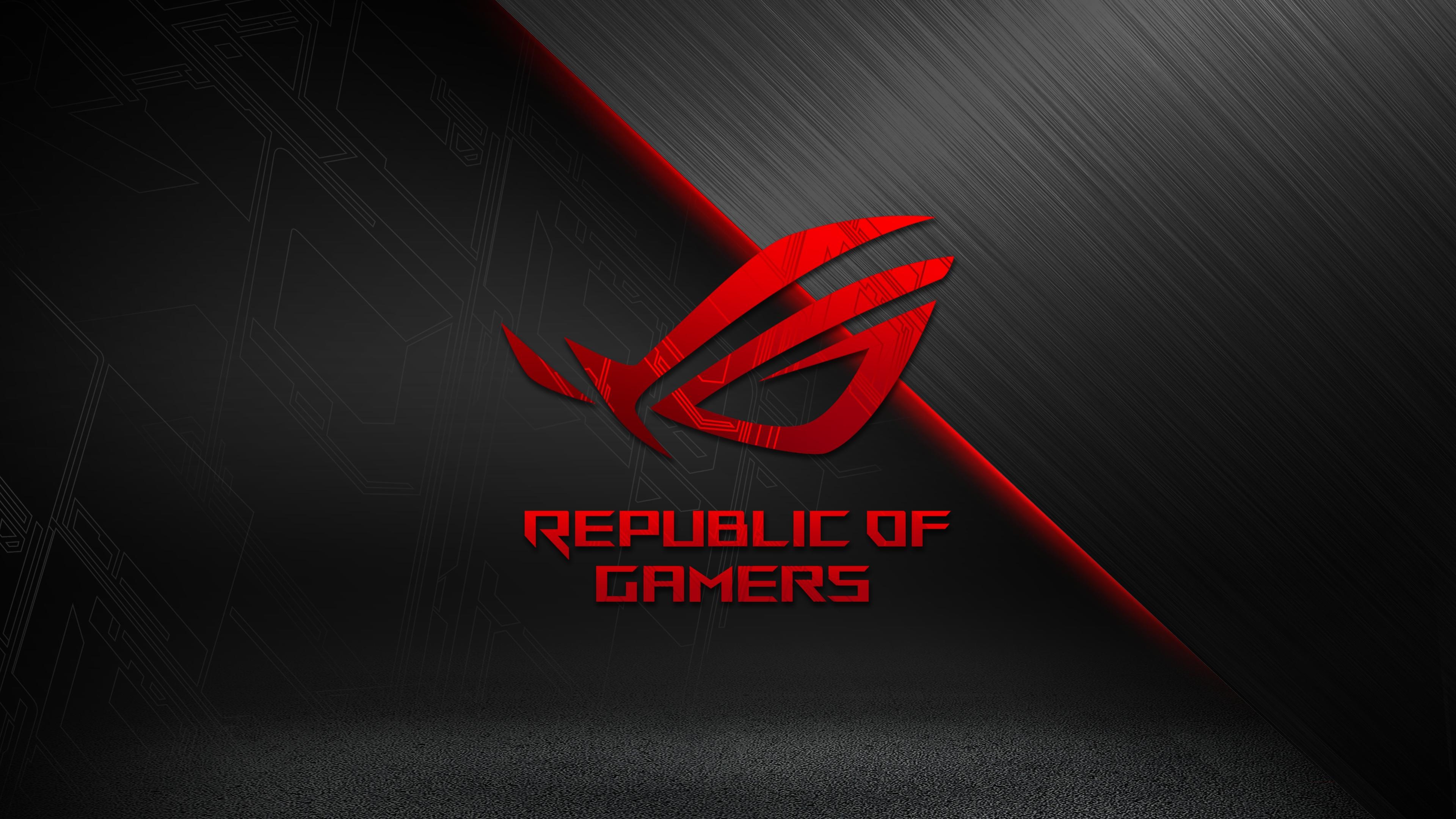Image Details Source Jonvilma Title Games Rog Asus Republic Of Gamers Wallpapers Desktop Phone Tablet Dimension 3840 X 2160