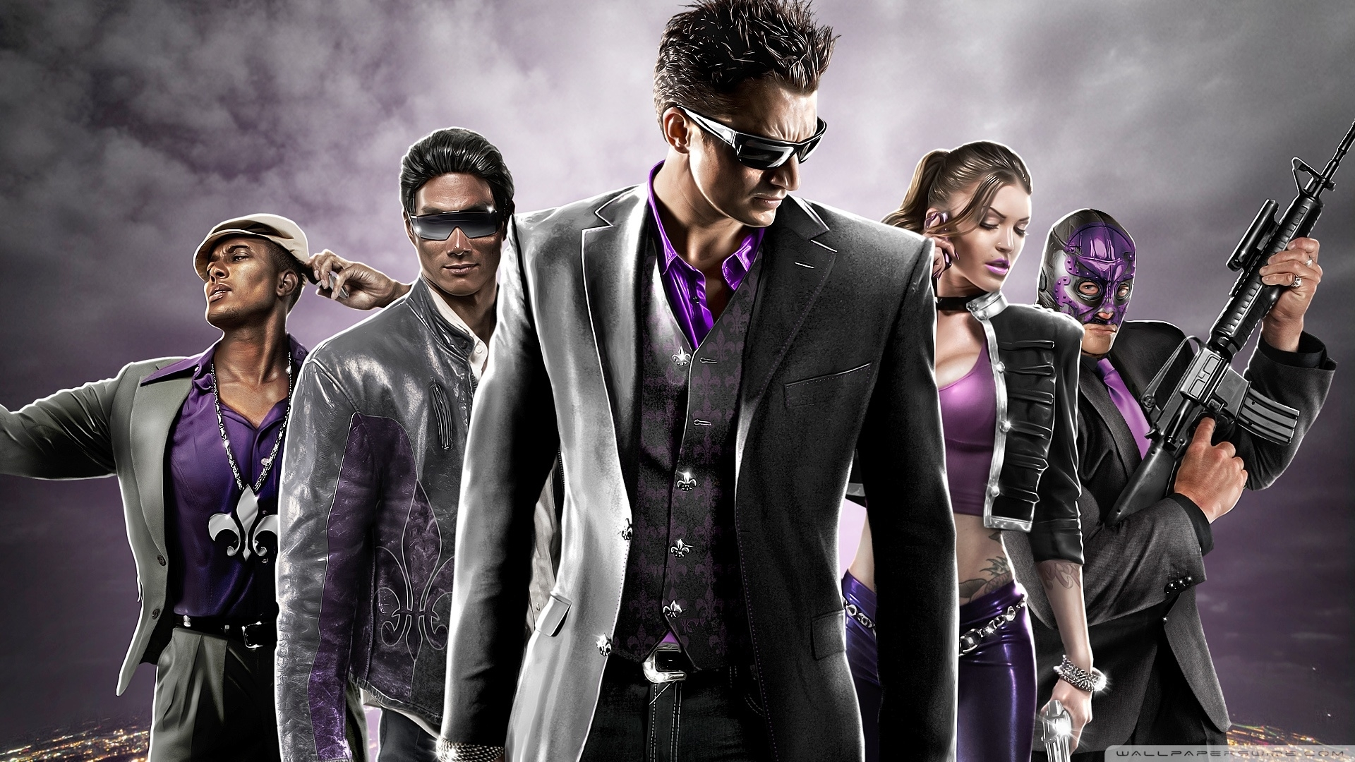 games saints row 4 wallpapers (desktop, phone, tablet) - awesome