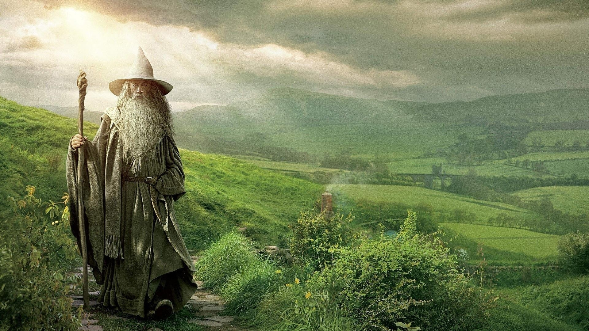 gandalf wizards the hobbit middle-earth ian mckellen wallpaper | (4541)