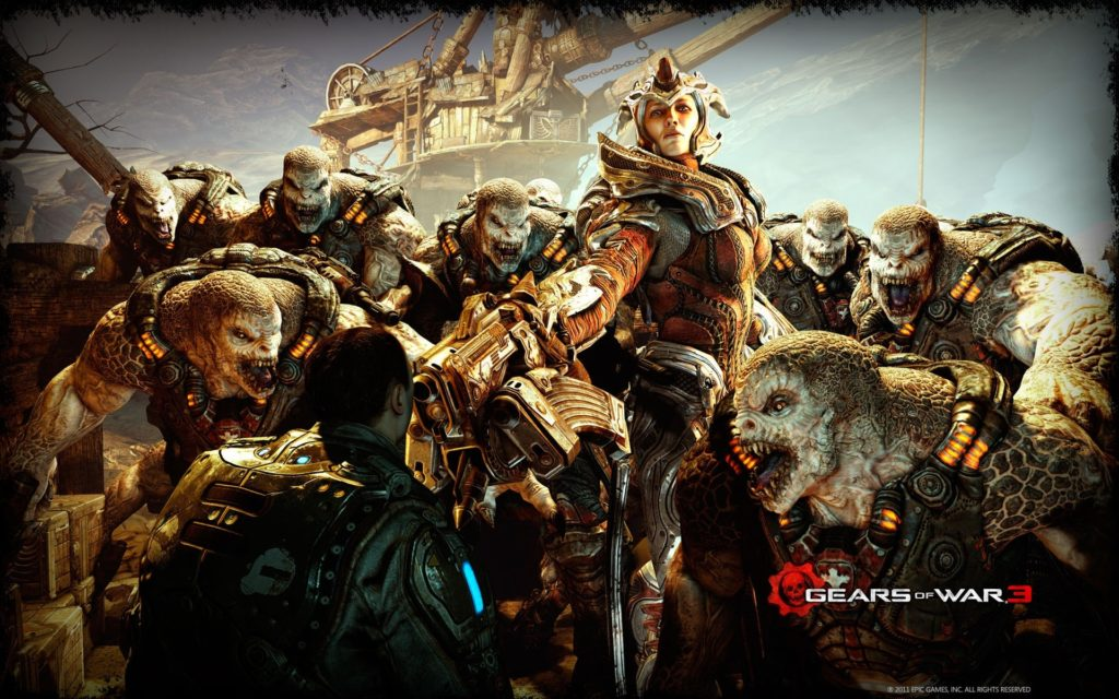 10 Most Popular Gears Of War 3 Wallpapers FULL HD 1080p For PC Desktop 2018 free download gears of war 3 2011 wallpapers hd wallpapers id 10438 1024x640