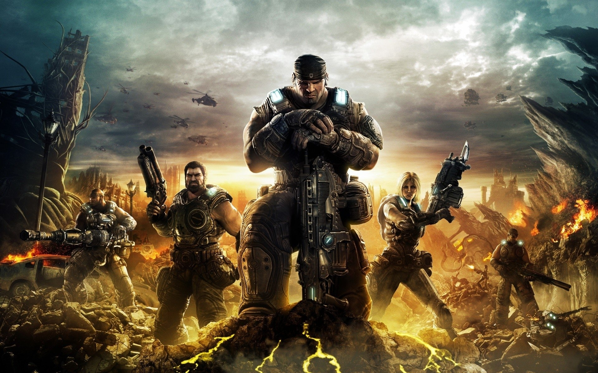 10 Best Gears Of War 3 Wallpaper FULL HD 1080p For PC Desktop