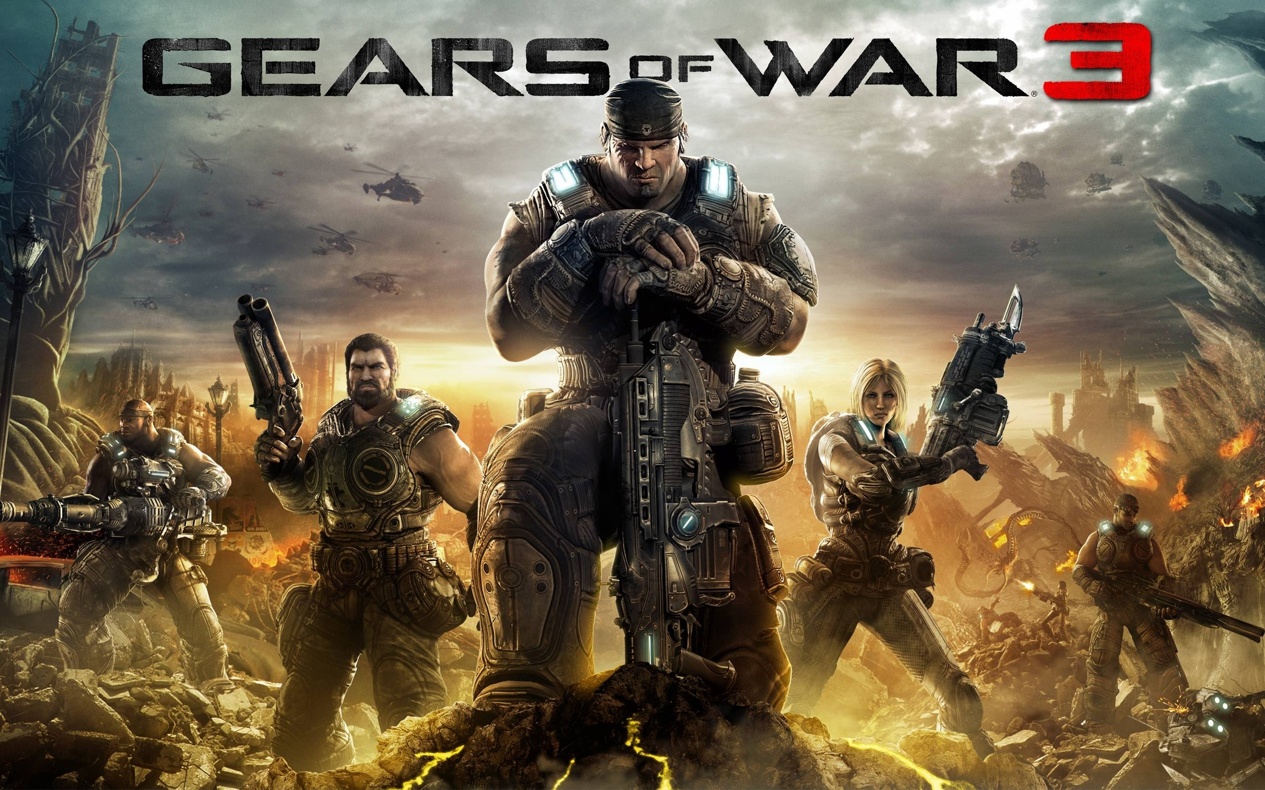 10 Top Gears Of War Wallpaper Hd 1080P FULL HD 1920×1080 For PC Background