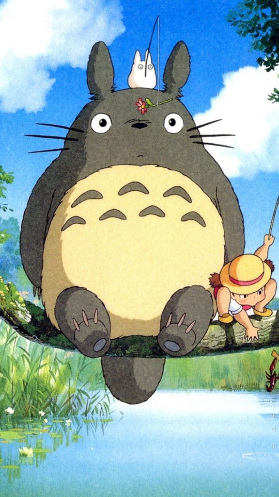 10 Top My Neighbor Totoro Iphone Wallpaper FULL HD 1080p For PC Background 2018 free download ghibli my neighbor totoro anime iphone 6 wallpaper hd free 576x1024