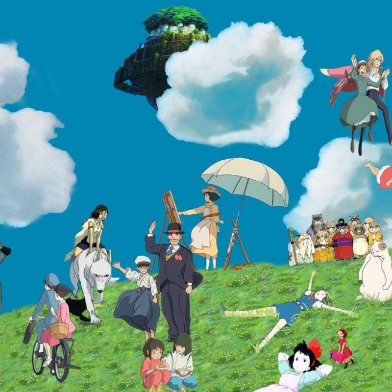 10 Best Studio Ghibli Laptop Wallpaper FULL HD 1080p For PC Background 2018 free download ghibli wallpaper wip 3dbenjamin on deviantart 800x800