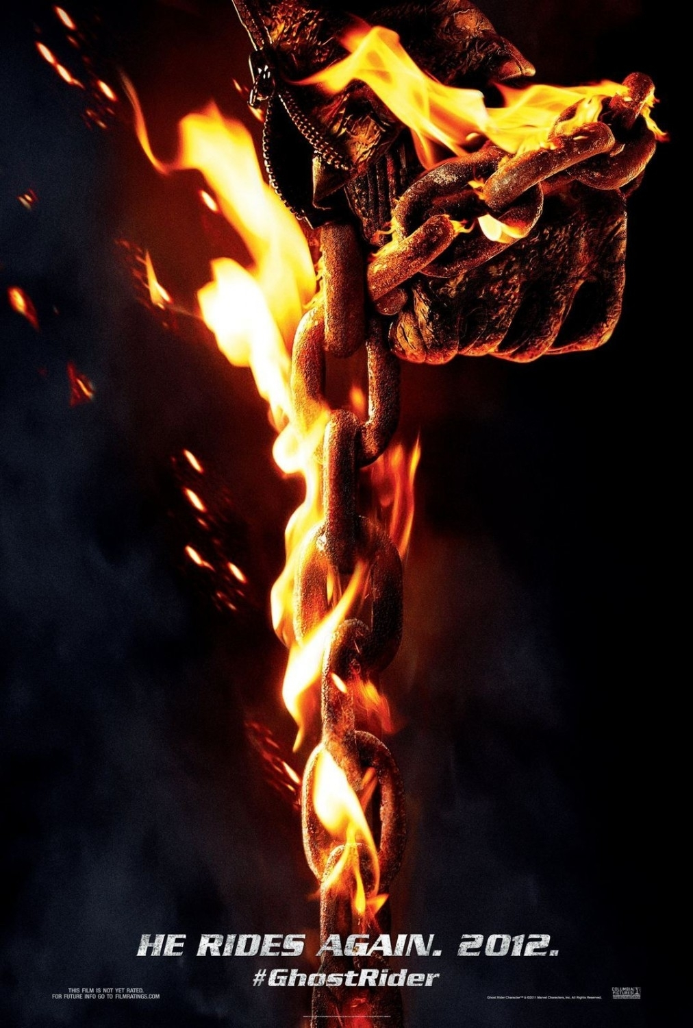 ghost rider 3 news from nicolas cage; says it's possible 'but it