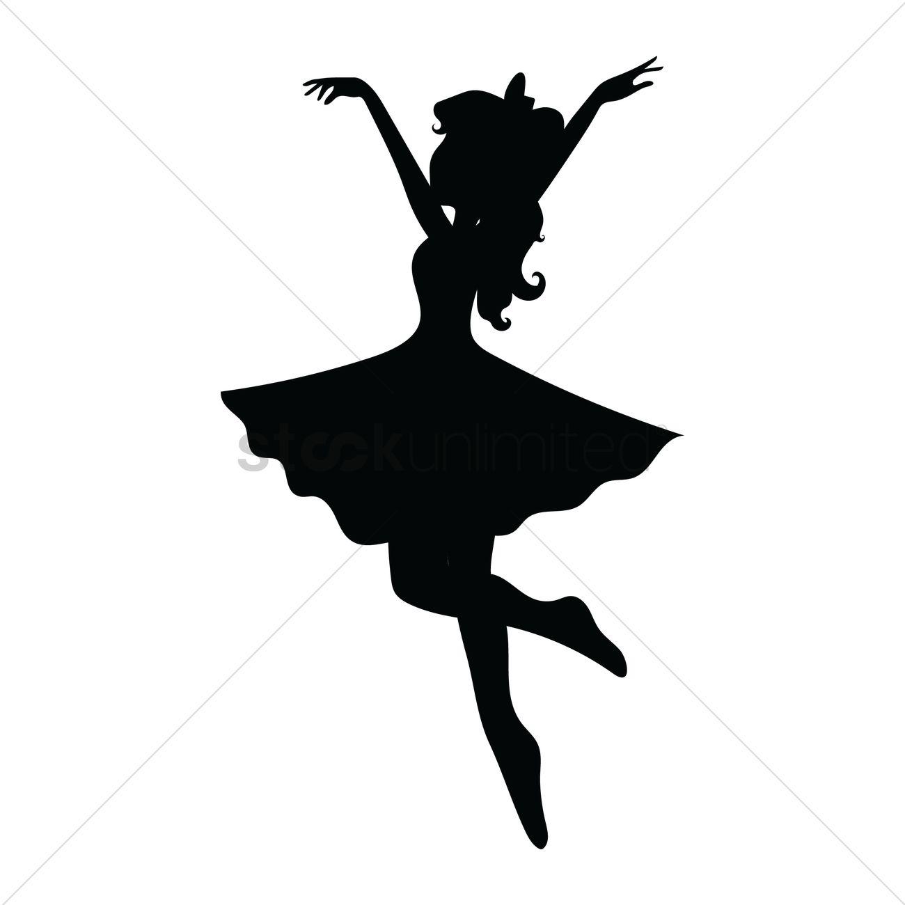 girl dancing vector image - 1414151 | stockunlimited