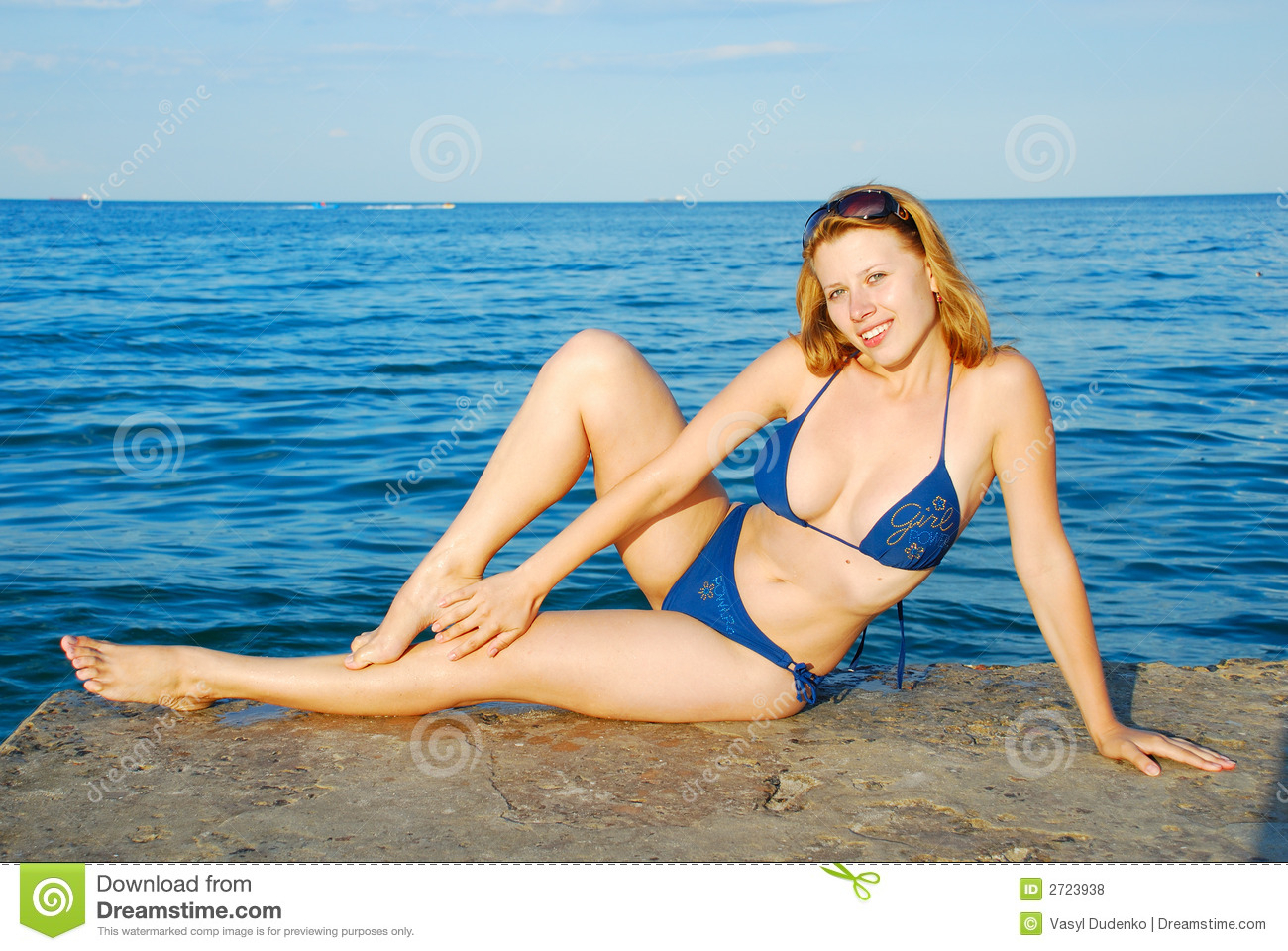girl on sea beach stock photo. image of nice, relax, shine - 2723938