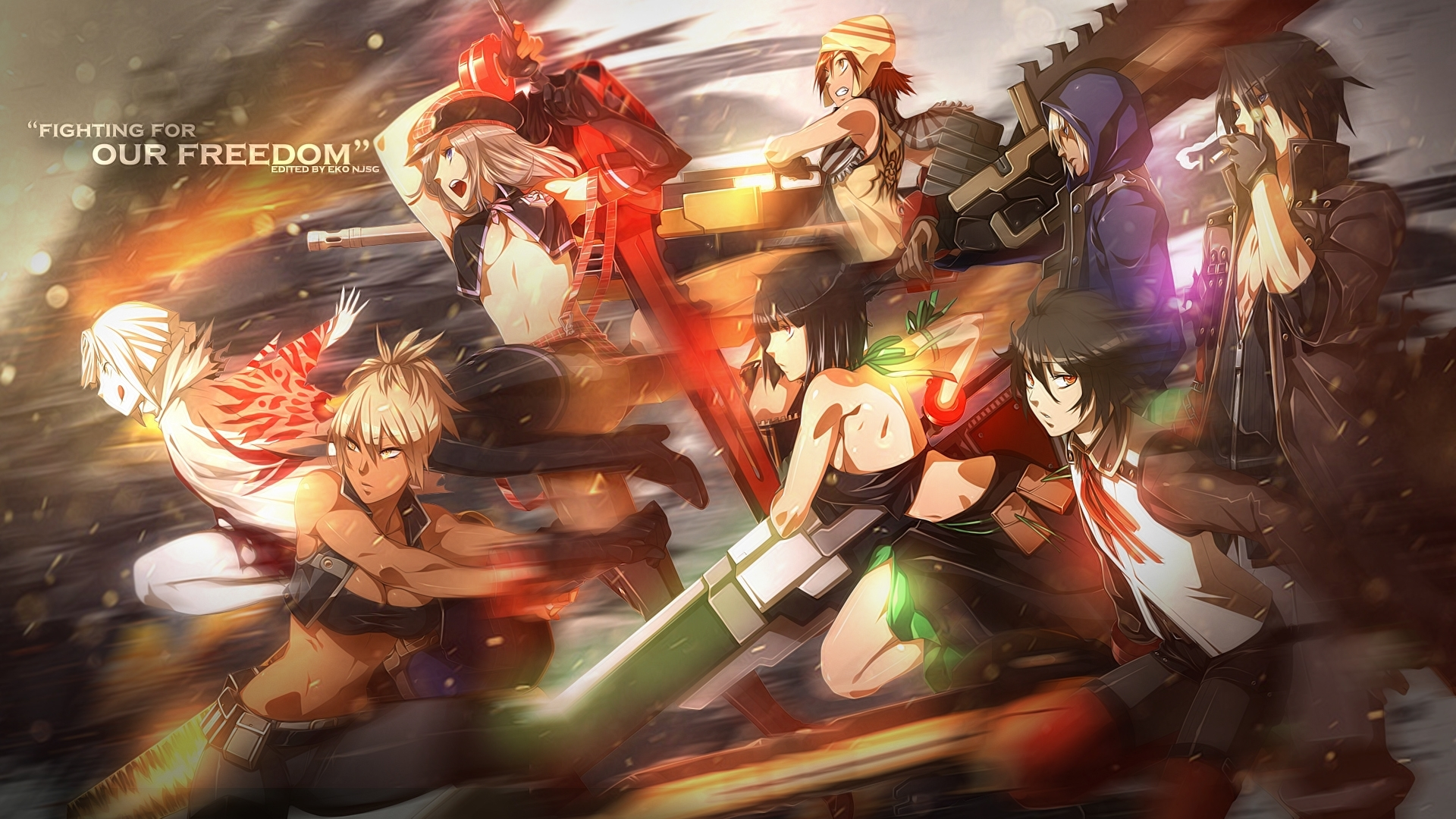 god eater full hd wallpaper and background image | 1920x1080 | id
