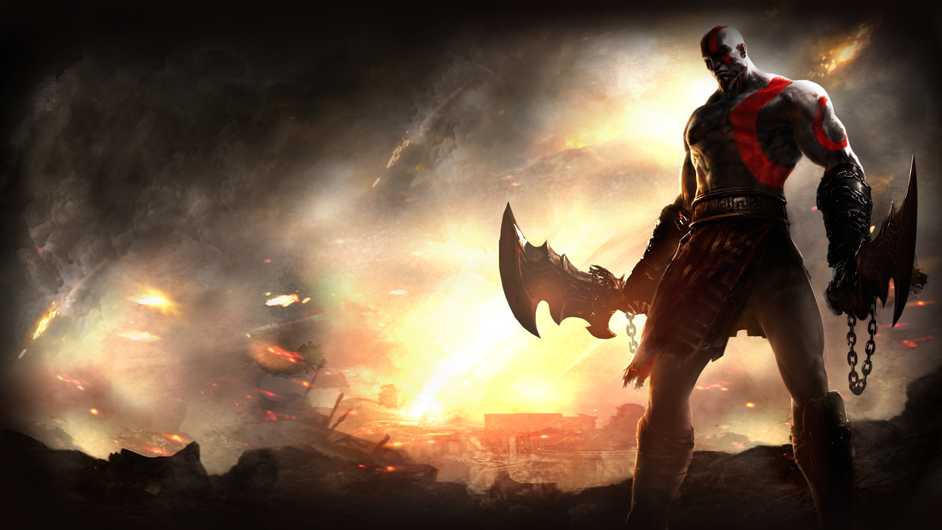 god of war full hd wallpaper and background image | 1920x1080 | id