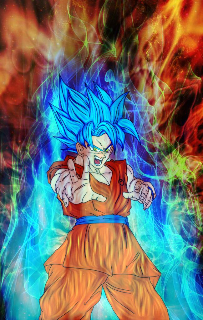 10 Most Popular Goku Super Saiyan God Wallpaper FULL HD 1080p For PC Desktop 2020 free download goku god ki super saiyannassif9000 on deviantart 649x1024