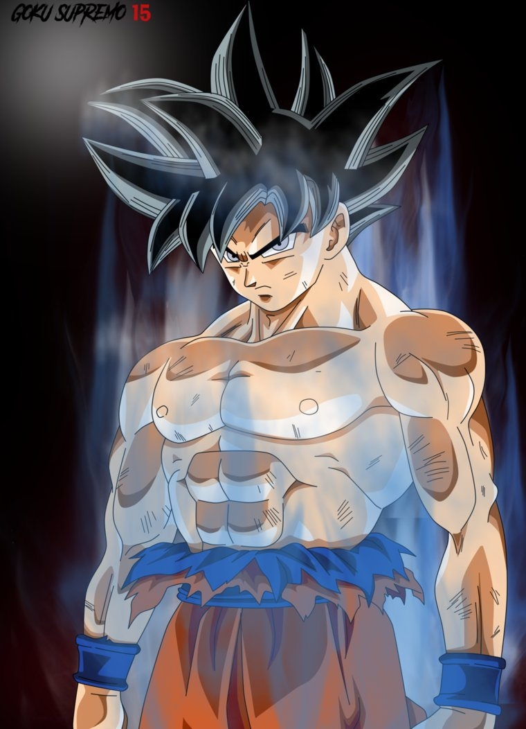 goku limit breaker ( poster )gokusupremo15 on deviantart