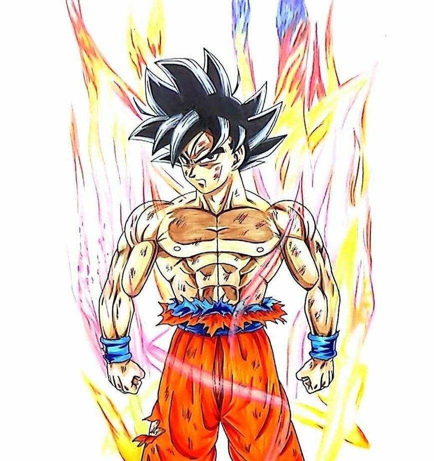 10 Latest Limit Breaker Goku Poster FULL HD 1920×1080 For PC Background 2018 free download goku limit breaker poster no backgroundztubornnaniac on
