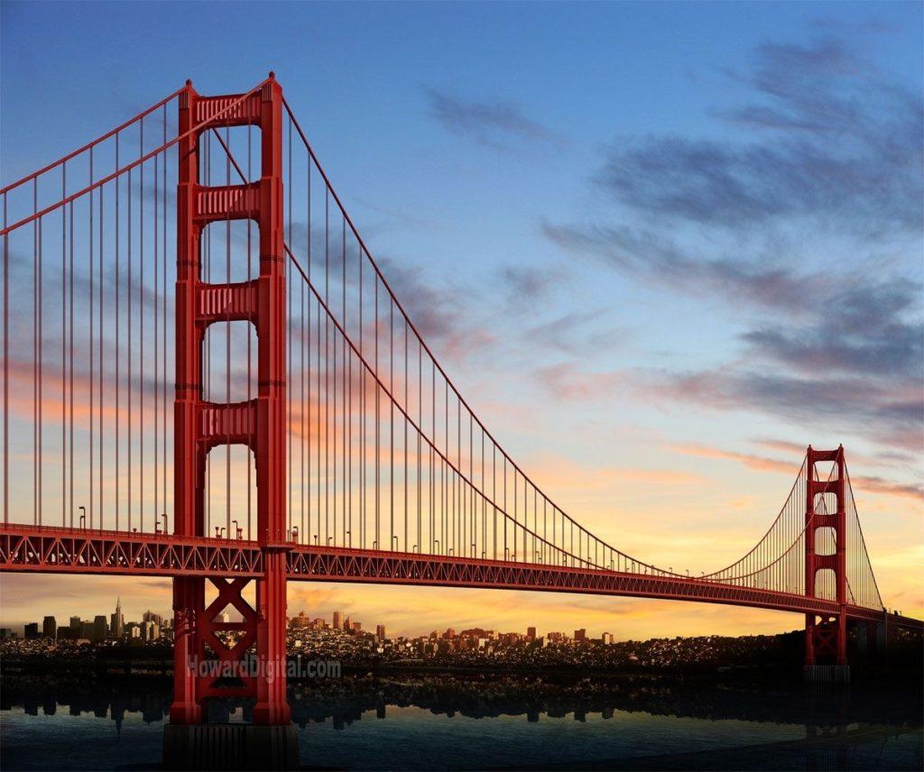 10 Top San Francisco Golden Gate Bridge Wallpaper FULL HD 1920×1080 For PC Desktop 2021 free download golden gate bridge wallpapers android with wallpapers wide 1024x856