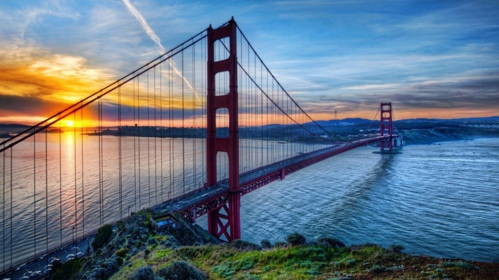 10 Top San Francisco Golden Gate Bridge Wallpaper FULL HD 1920×1080 For PC Desktop 2021 free download golden gate bridge wallpapers wallpaper cave 1024x576