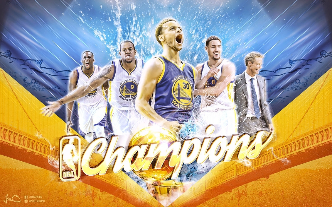 golden state warriors nba champions wallpaperskythlee on deviantart